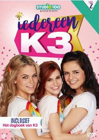 Cover K3 - Iedereen K3 Vol 2 [DVD]